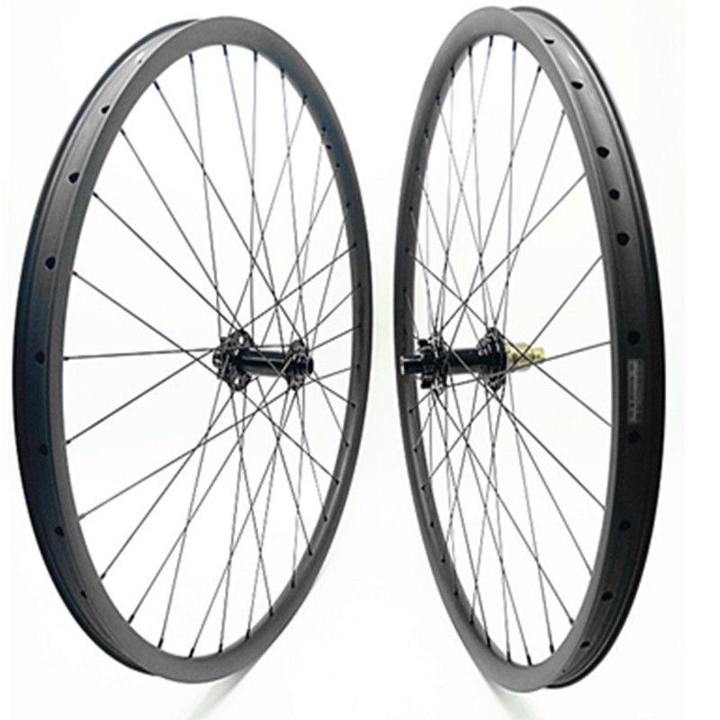 29er carbon mountainbike rad set bitex R211 boost 110x15mm 148x12mm rad set 30mm 1370g tubeless mtb carbon räder