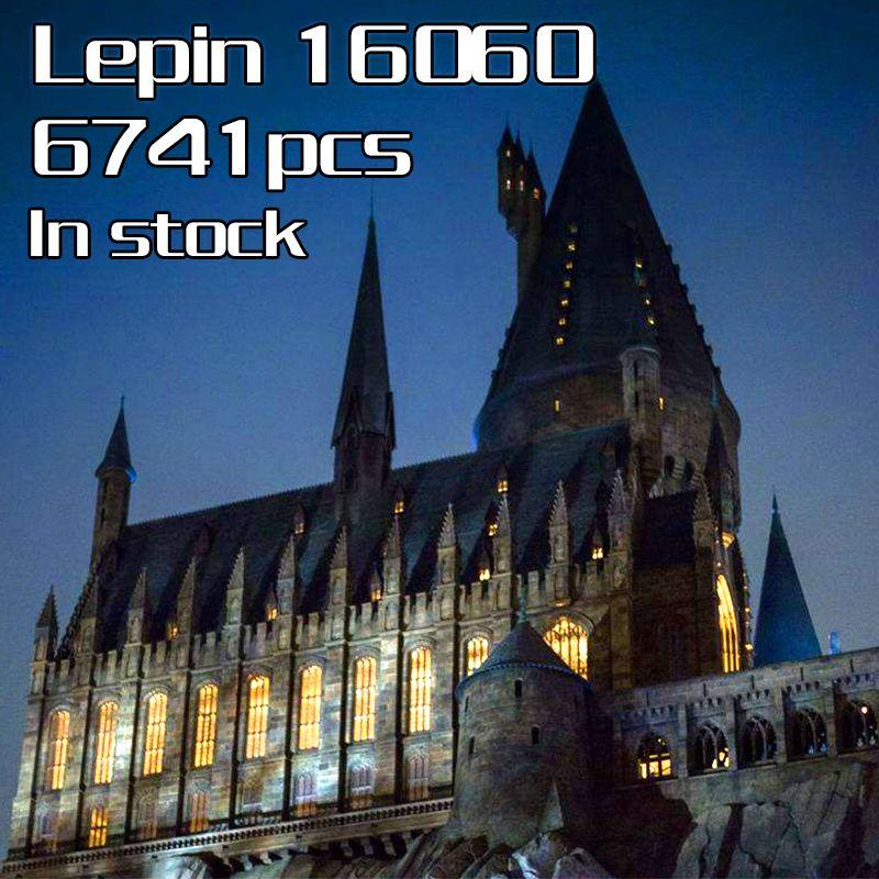 In Stock Lepin 16060 Harry Movie Potter Hogwartsed Castle Magic School Building Blocks Bricks Toy Gifts
