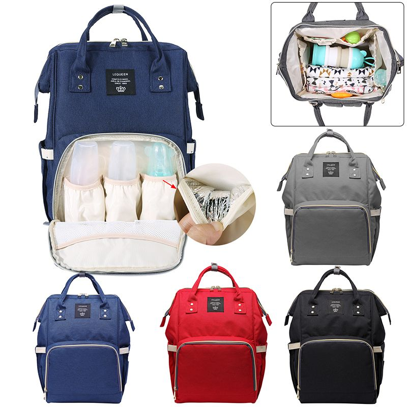 Fashion Baby Diaper Bags Travel Nappy Backpack for Mom Large Capacity Baby Bag Mummy Baby Care Backpack Bags