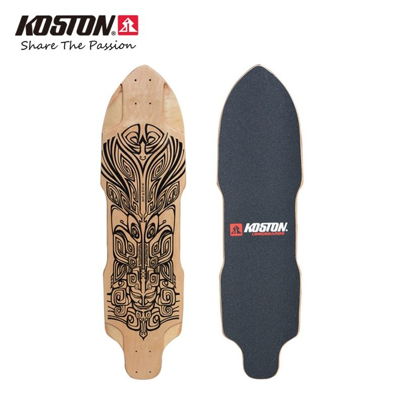 Koston Professional Longboard Sword Deck 36 Inch 9ply Canadian Maple Laminated Downhill Racing Long Board Decks LD294