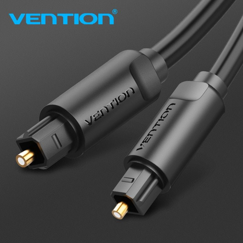 Vention Optical Fiber Audio Cable 1m 5m For Blu-ray CD DVD Toslink Digital SPDIF Cable for Xbox 360 PS4 Soundbar Fiber Cable