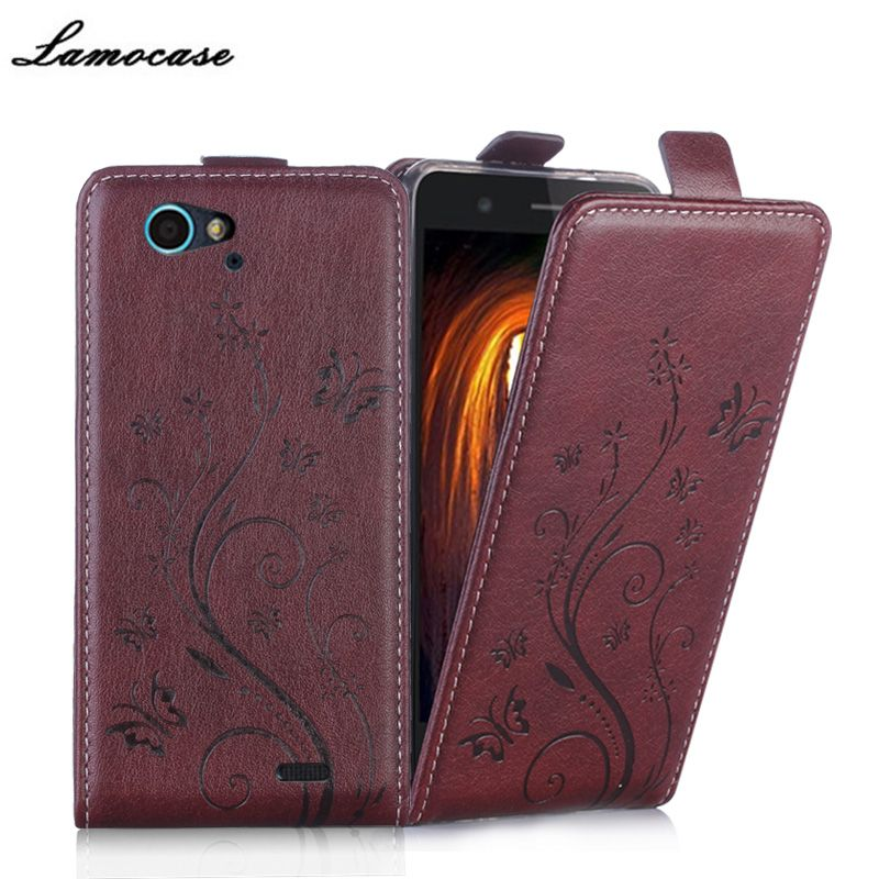 Lamocase Case For ZTE Blade L4 Pro T610 Blade A475 5.0 inch Leather Flip Cover For ZTE Blade A475 Vertical Protective Phone Bags
