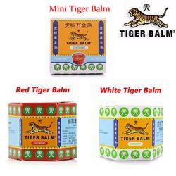 100% Natural Original 19,4G rojo bálsamo de tigre ungüento Tailandia Painkiller ungüento dolor muscular masaje alivio aliviar la picazón