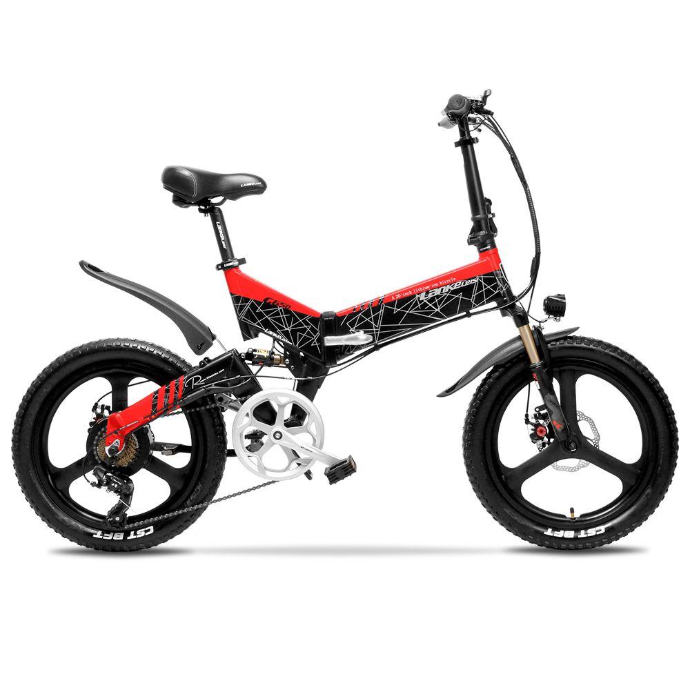 Cyrusher G650 Verbesserte version elektrische bike 3 messer rad 48V 12.8AH 52 abschnitt 2600MAH li Elektrische fahrrad mit smart kilometerzähler