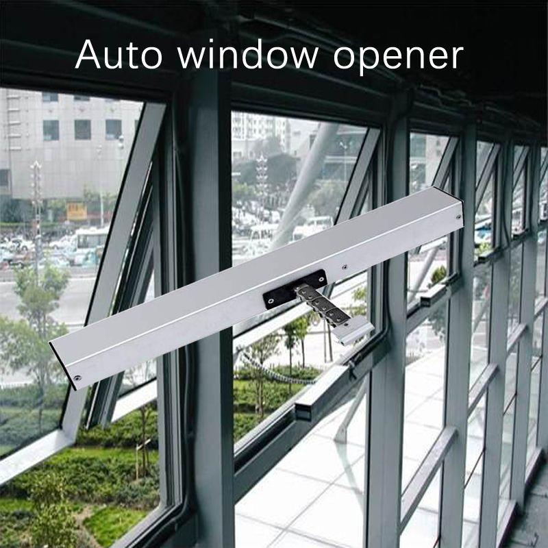 24v auto window open motor ,400mm stroke ,remote control ,mobile control via Broaklink Rm pro
