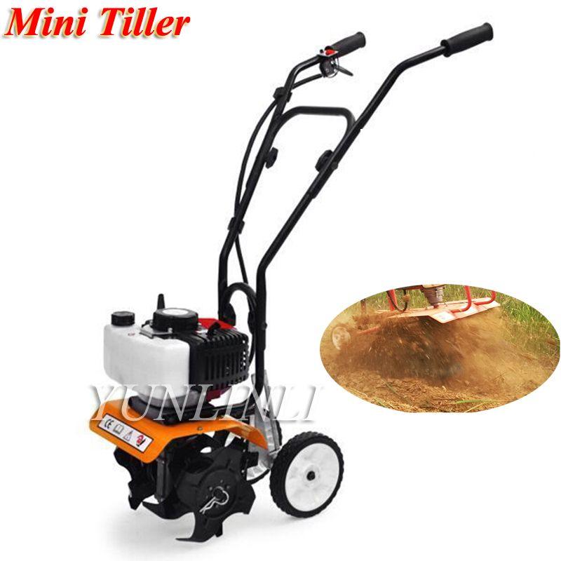 52cc Mini Tiller Garten Grubber Rotary Hoe Tine Tiller 1650 W Mini Grubber Pro Maschine Für Boden Lösen Ausrüstung 1E44F-5