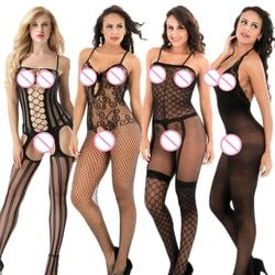 Frauen Sexy Dessous Geöffneter Gabelung Plus Größe Babydoll Transparent frauen Erotische Dessous Sexy Hot Erotische Unterwäsche Sexy Kostüme