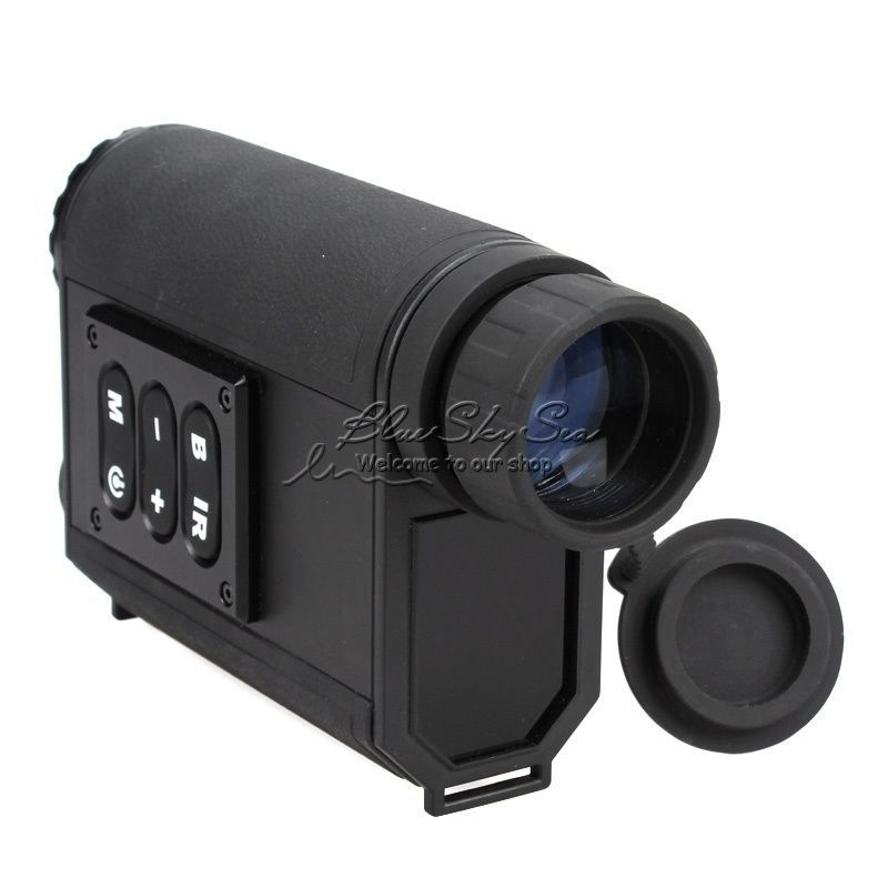 Mutifuctional 6X32 Night Visions Infrarot IR Monokulare Umfang Scout W/Laser Ranger 500 mt Laser-entfernungsmesser Kostenloser verschiffen