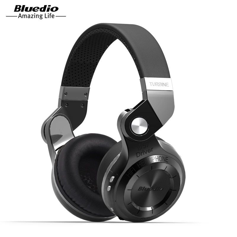 Original Bluedio T2S bluetooth headphones with microphone wireless headset bluetooth for <font><b>Iphone</b></font> Samsung Xiaomi headphone