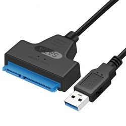 2.5 Inch External Hard Drive Converter 5Gbps USB 3.0 to SATA III Adapter Cable Support UASP For 2.5