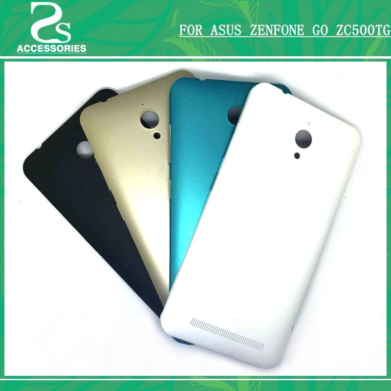 Original zc500tg Battery Back Housing Cover For Asus Zenfone Go ZC500TG 5.0'' Back Door Battery Case With Power Buttons