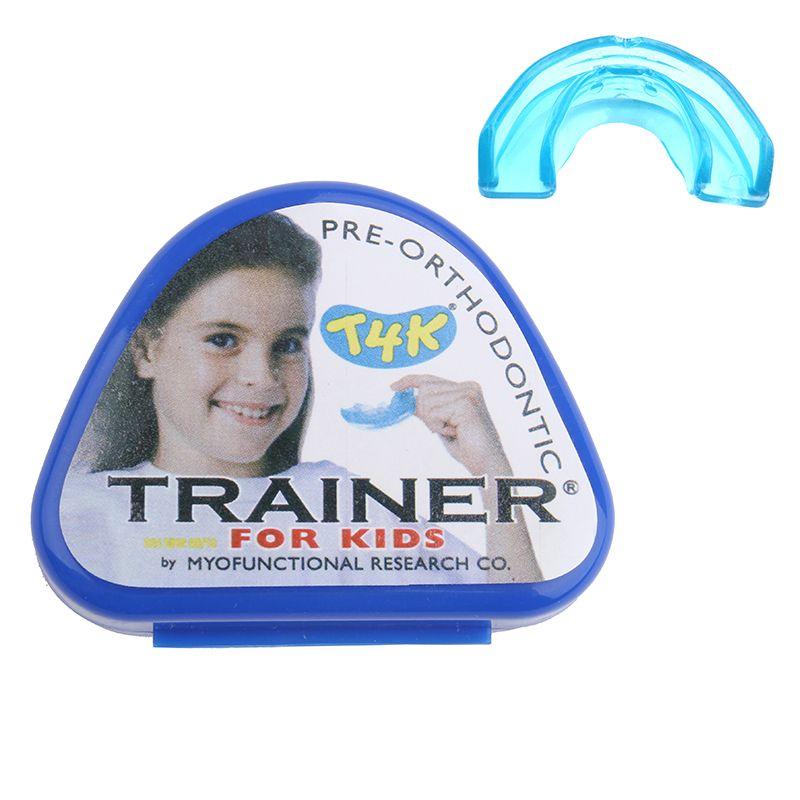 1 pièces T4k entraîneur dentaire dent appareil orthodontique entraîneur alignement bretelles dents droites/alignement soin des dents