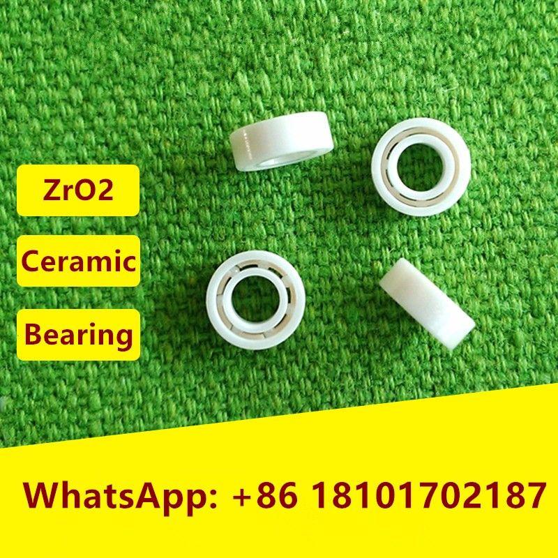 5pcs MR106 ZrO2 full Ceramic ball bearing 6x10x3 mm Miniature Zirconia ceramic deep groove ball bearings 6*10*3  fishing reel