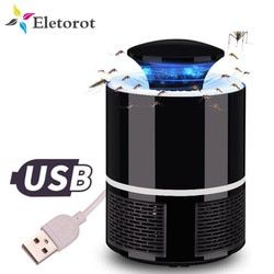 Mosquito Killer Light USB Electric Anti Fly Mosquito Lamp Household LED Bug Zapper Bug Insect Trap Photocatalysis UV Night Lamp