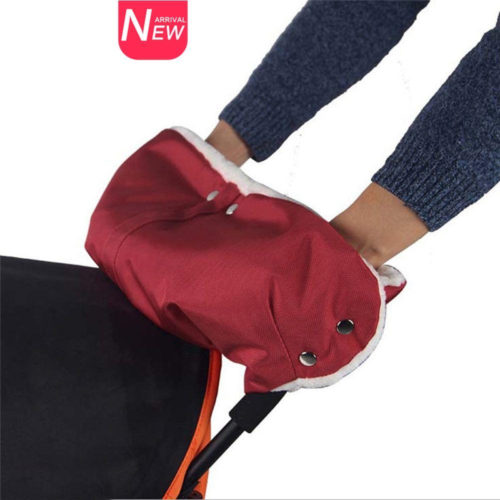 Waterproof Stroller Warmer Gloves Pushchair Hand Muff Pram Accessories Winter Baby Carriage Glove Buggy Clutch Cart Muff Glove