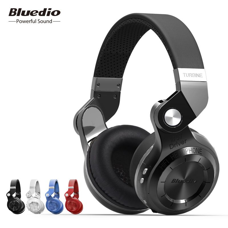 <font><b>Bluedio</b></font> original T2S Bluetooth Wireless Headphone Foldable Bass Headset With Microphone for Smartphone comfortable wearing