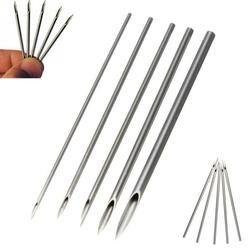 10 piezas estériles desechables Body Piercing agujas médicas del tatuaje agujas Piercing para ombligo pezón nariz de oído 12g/ 14g/16g/18g/20g