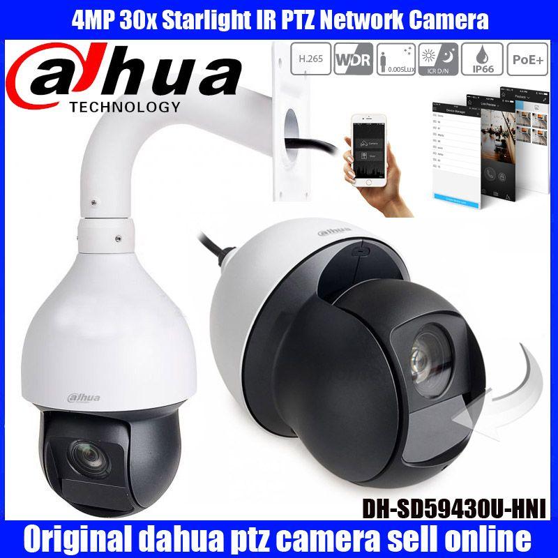 Original englisch Dahua 4MP 30X IP PTZ PoE DH-SD59430U-HNI DHI-SD59430U-HNI Auto-tracking IVS H.265 IR High speed dome kamera