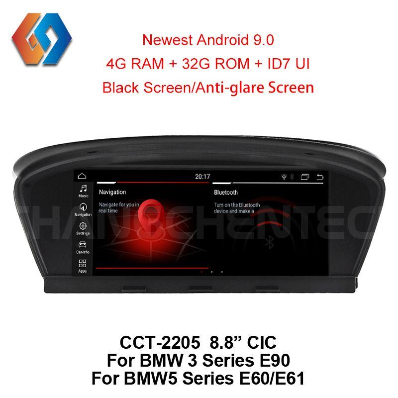 Für BMW E60 E90 Auto Multimedia GPS Navigation Android 8.1 WiFi BT Multi-punkt Touchscreen Telefon Spiegel CIC System nav Unit5