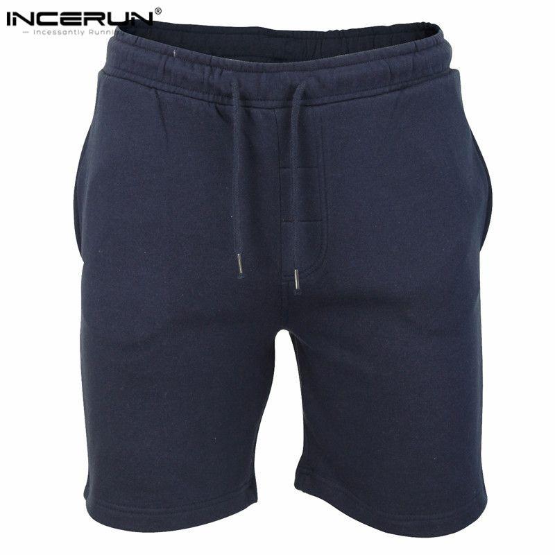 Incerun nueva marca de alta calidad los hombres Pantalones cortos bodybuilding fitness gyms-ropa Sporting Workout Jogger Pantalones cortos XXL