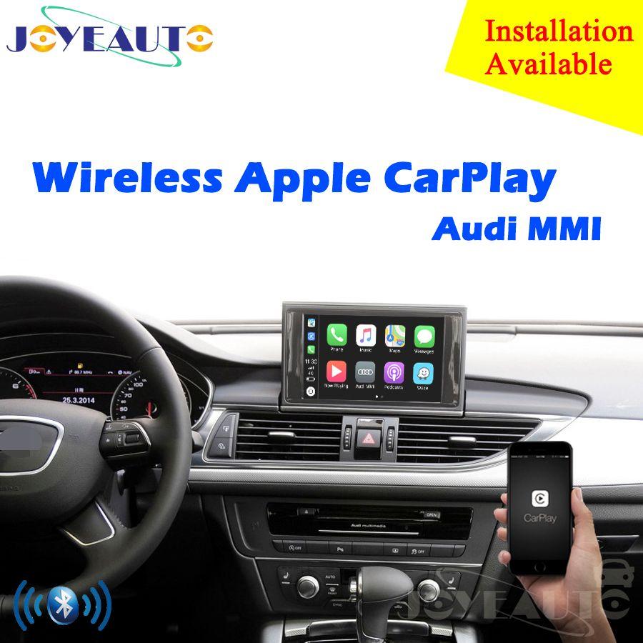 Aftermarket OEM Drahtlose Apple CarPlay A1 A3 A4 A5 A6 A7 A8 Q2 Q3 Q5 Q7 MMI für Audi Auto spielen Android Auto Spiegel Reverse Kamera