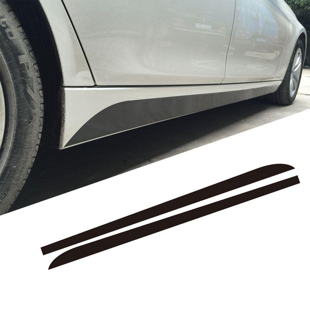 5D углерода новый M производительность подоконник сбоку юбка в полоску наклейки для BMW 3 5 серии F30 F31 X5 F15 F10 f11 E60 E61 F22 F23 E90 f32