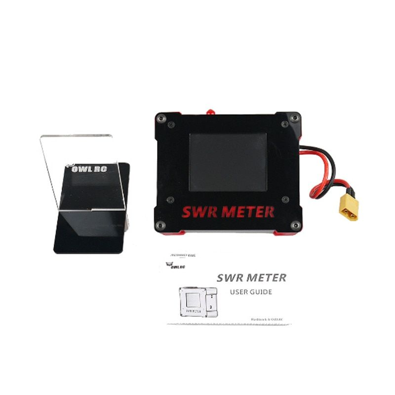 OWLRC 5.8G 200mw 40CH VTX TFT 2.8 Inch Touch Screen SWR METER SMA/RP-SMA Male FPV Accessories DIY Parts