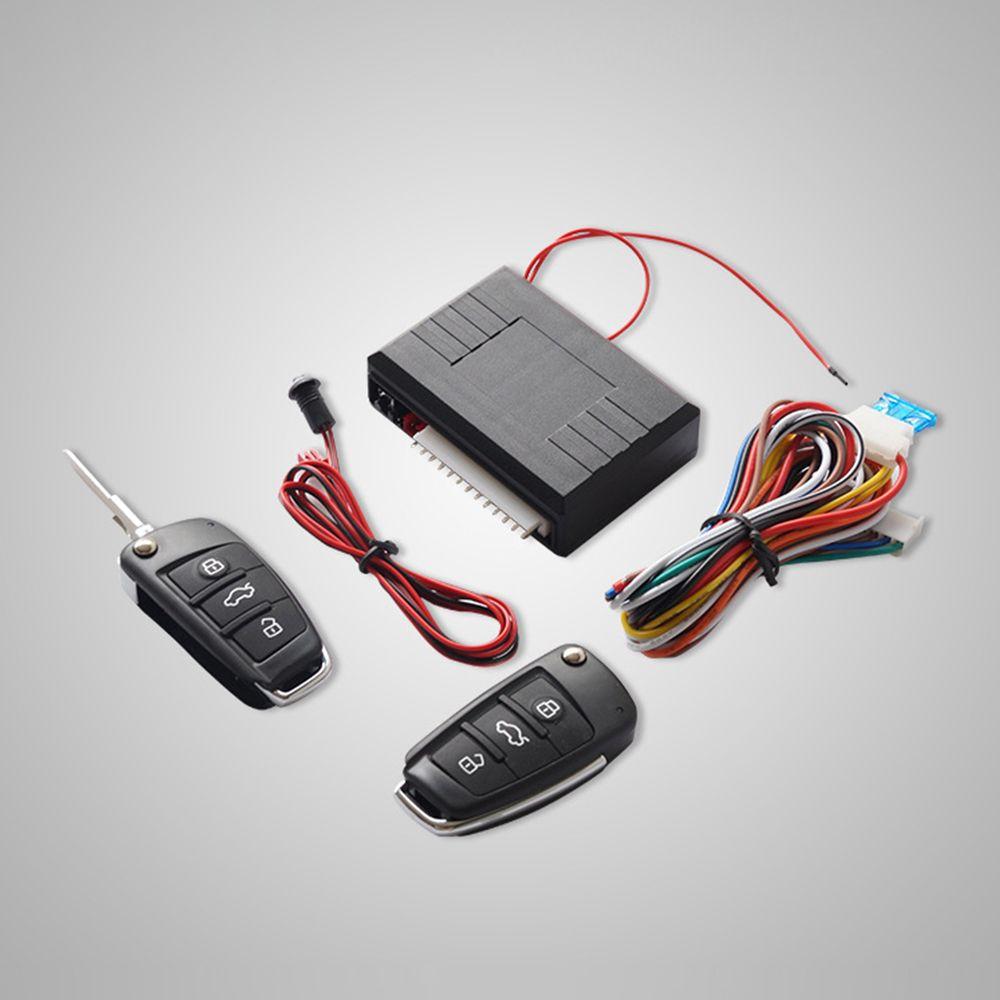 Универсальный Авто Автозапуск Системы кнопку Start Stop led брелок центральный комплект замок с Дистанционное управление