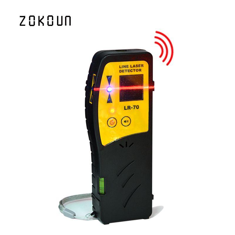 Beau niveau laser de mode extérieur disponible récepteur ou détecteur laser de ligne croisée de faisceau rouge avec pince