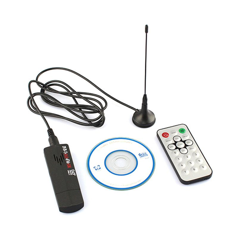 DVB-T + DAB + FM + SDR RTL2832U + R820T Digital USB 2.0 TV Stick Support SDR Tuner Receiver with Remote Controller new arrival