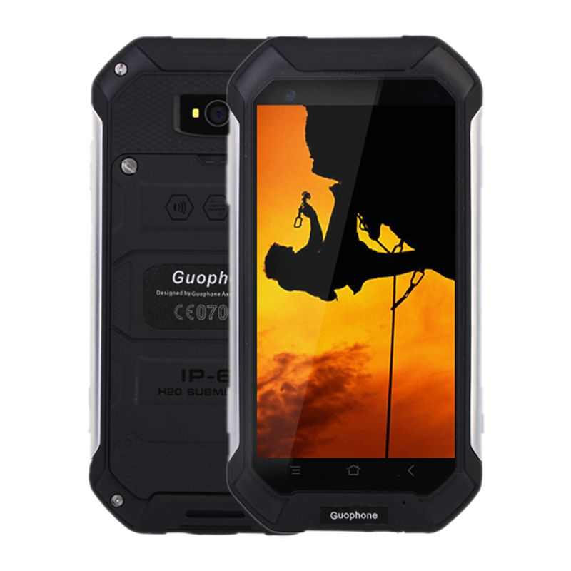 Shockproof real waterproof IP68 MTK6580 Quad Core Android 5.1 4.5