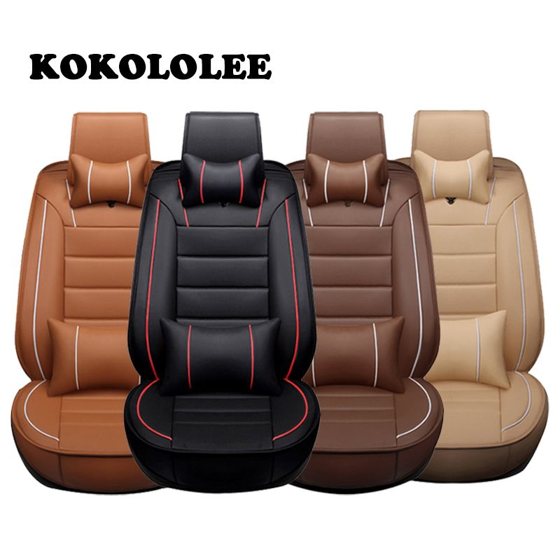 Autos Sitzbezüge slap-up Auto Sitzbezug Universal Fit Innen Zubehör Sitz Dekoration Schutzdeckel Auto-Styling