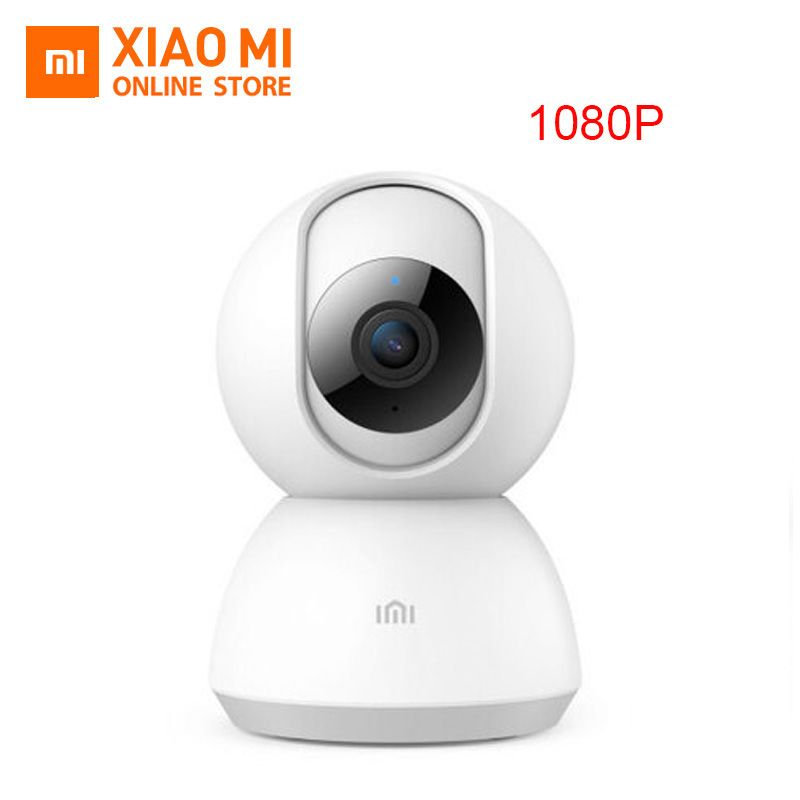 Updated Version Xiaomi Mijia Smart IP Camera 1080P WiFi Pan-tilt Night Vision 360 Degree View Motion Detection Security Monitor