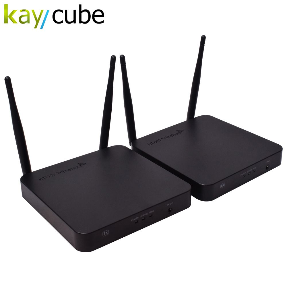 Kaycube HDMI Wireless Extender 100 mt WIFI audio und video sender 2,4/5G 1080 P IR HDMI über Drahtlose HDMI für PC HDTV DVD