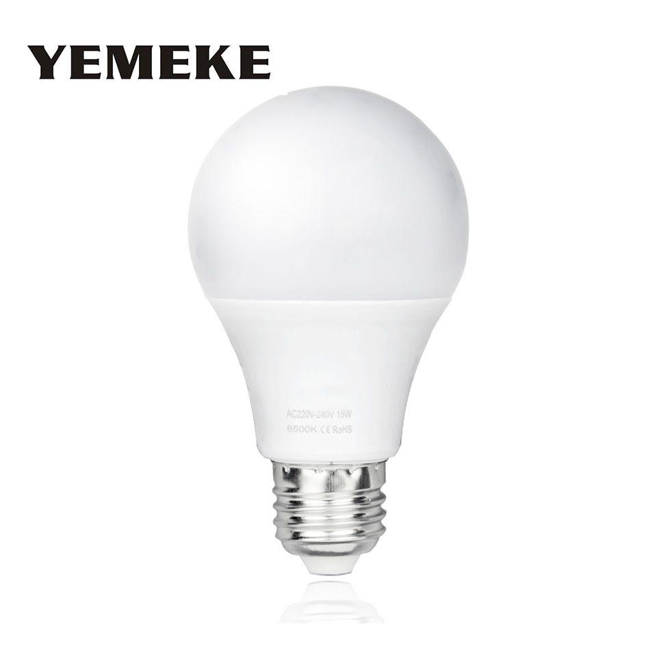 High Power Bombilla E27 Led Lamp AC220V Led Bulb 3w/5w/7w/9w/12w/15w Lampada LED Spotlights Table Light LED Energy Saving Lamp