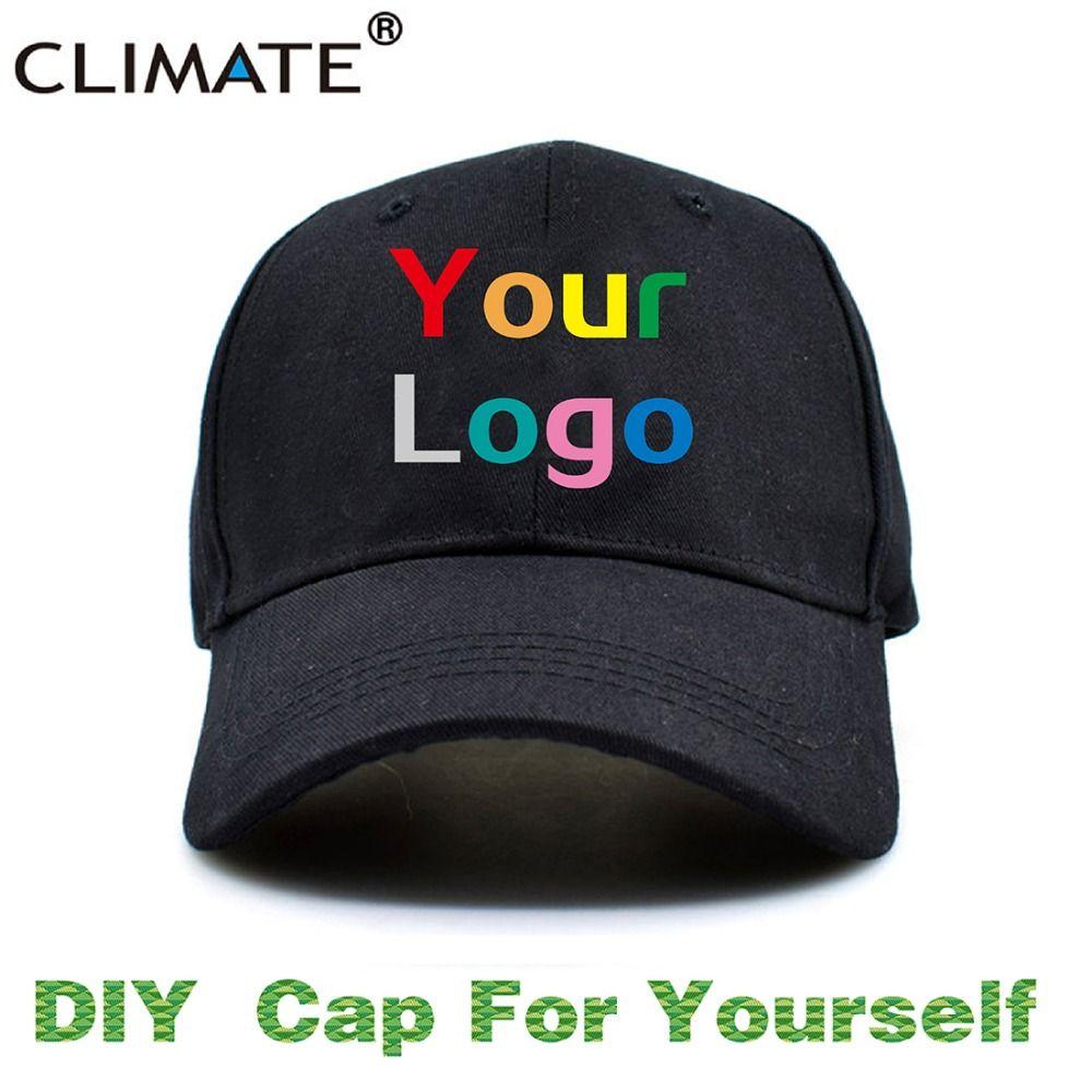 CLIMATE DIY Customized Baseball Trucker Men Women Adult Kids Children Boy Girl Name Embroidery Printing Customize Caps Hat