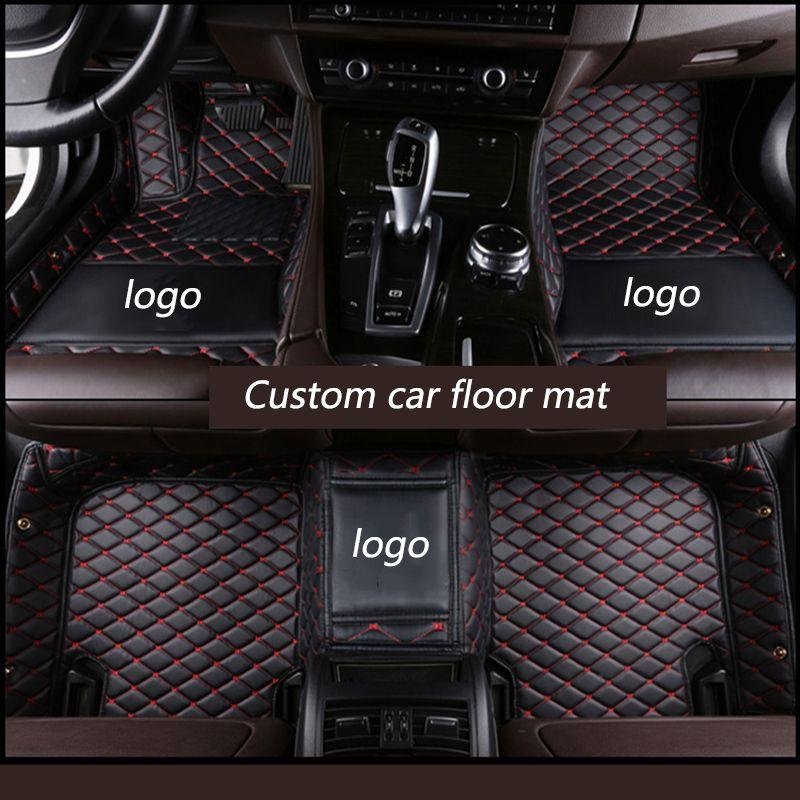 Kalaisike Custom car fußmatten für Audi alle modell A1 A3 A8 A7 Q3 Q5 Q7 A4 A5 A6 S3 s5 S6 S7 S8 R8 TT SQ5 SR4-7 auto styling