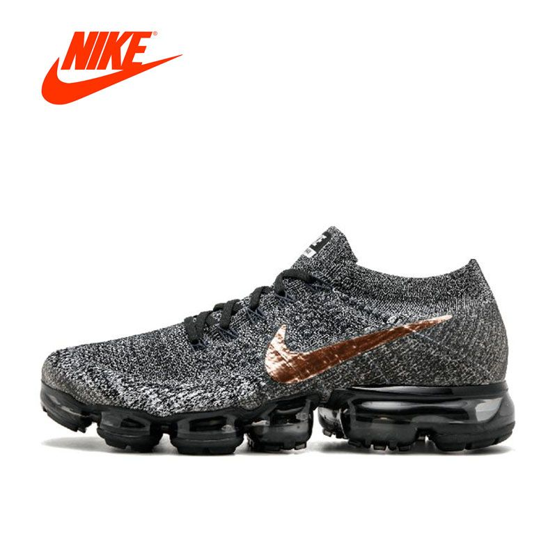Original New Arrival Official Nike AIR VAPORMAX FLYKNIT Breathable Men's Running Shoes Sports Sneakers Outdoor Jogging Athletic