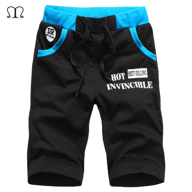 2018 neue Sommer Herren Moletom Masculino Shorts 5XL Tasche herren-Shorts Elastische Taille Brief Emboridary Männer Jogger Strand Shorts