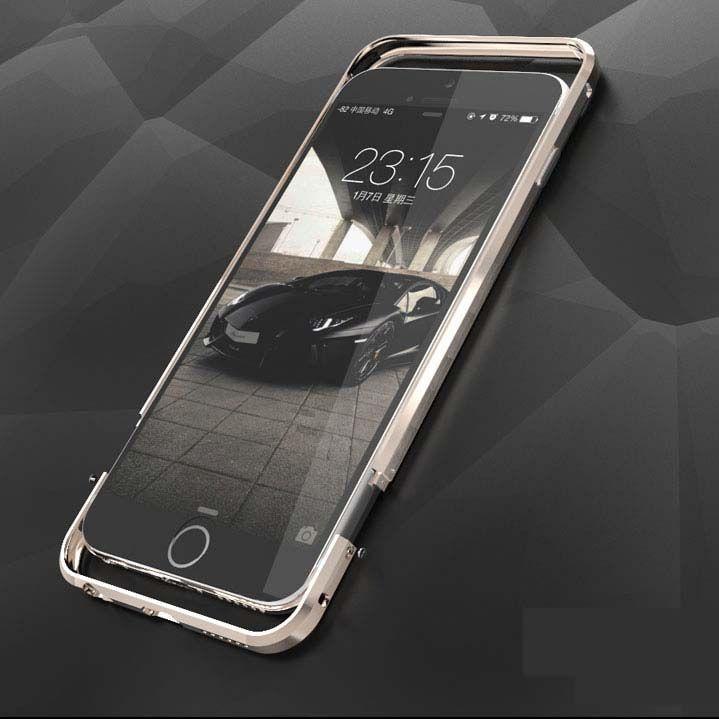 ITEUU 6 6 S De Luxe Butoir En Métal Cas pour Apple iPhone 6 6 S Top Qualité Haut de gamme En Alliage D'aluminium Cadre pour iPhone 6 S
