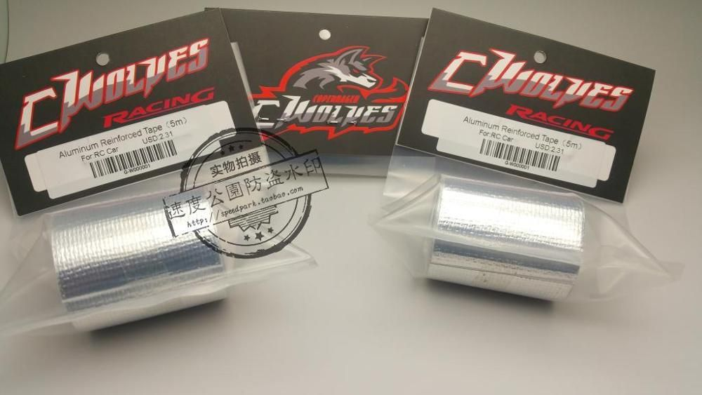 5 м G-волки Алюминий усиленный Клейкие ленты для защиты 1/10 RC Touring drift автомобиля Средства ухода за кожей