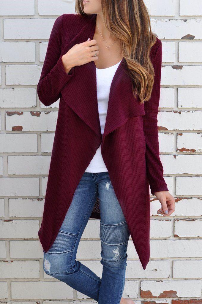 Модные женские вязаные Длинные куртки джемпер пальто длинный рукав дамы трикотаж пальто-кардиган женские осенне-зимняя одежда