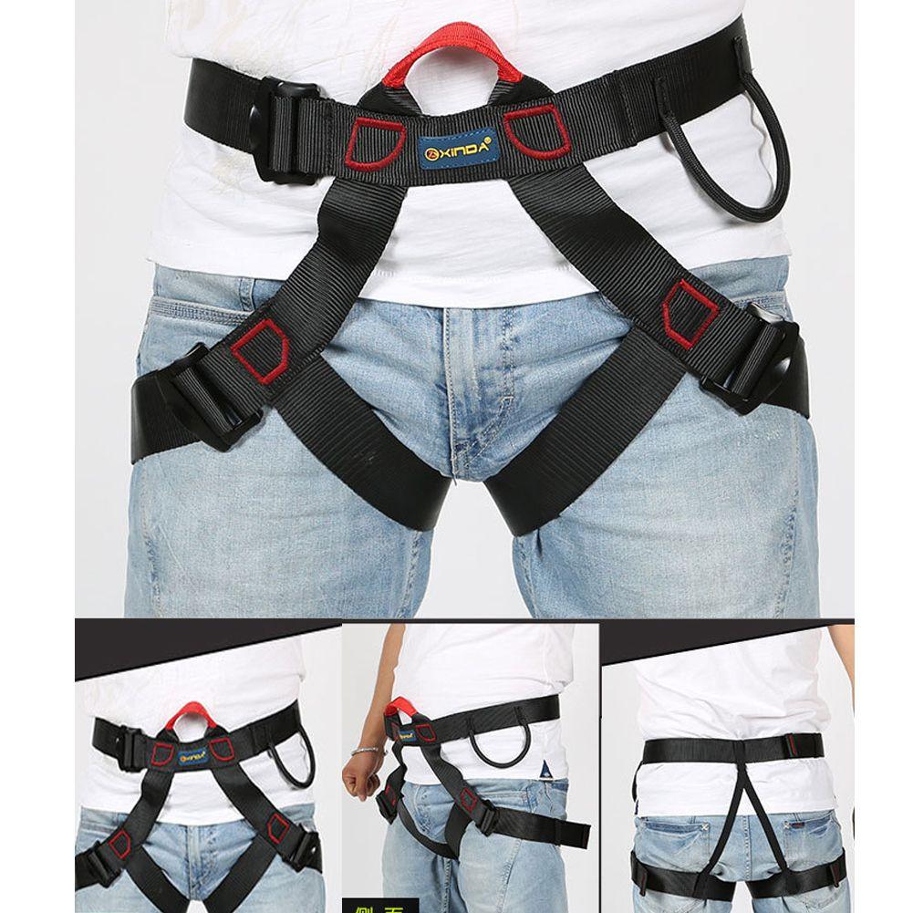 Outdoor Safety Belt Professional Rock Climbing Mountaineering Belt Downhill Rappel Belts Climbing Equipment Rescue Tools