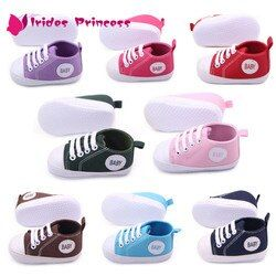 Sepatu Bayi Pertama Berjalan Baru Lahir Anak Laki-laki Perempuan Infantil Balita Lembut Tunggal Prewalker Sneaker untuk 0-12 M