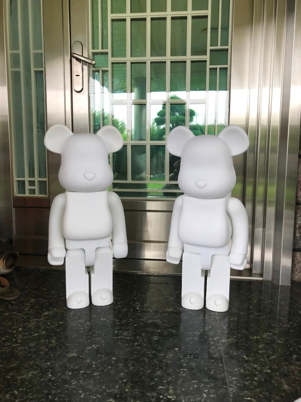 Limited Version 1000% bearbrick bear@brick 70cm DIY Paint PVC Action Figure White Color With Opp Bag