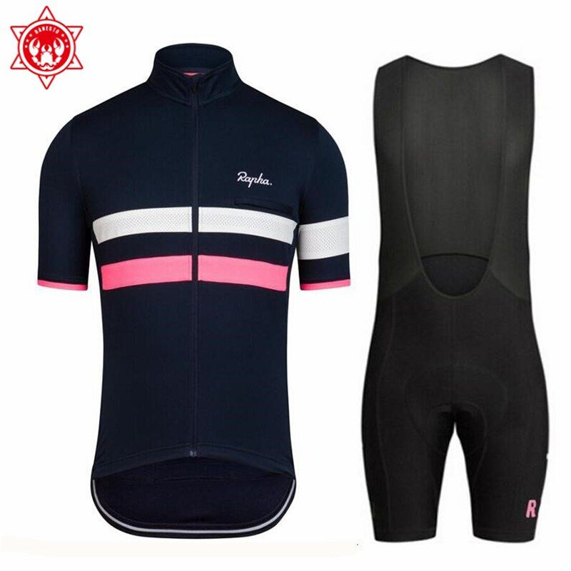 2018 Rapha cycling jersey road bike wear Bicycle Ropa Ciclismo Sportswear Maillot Bicycle clothes Mtb Bike shirt