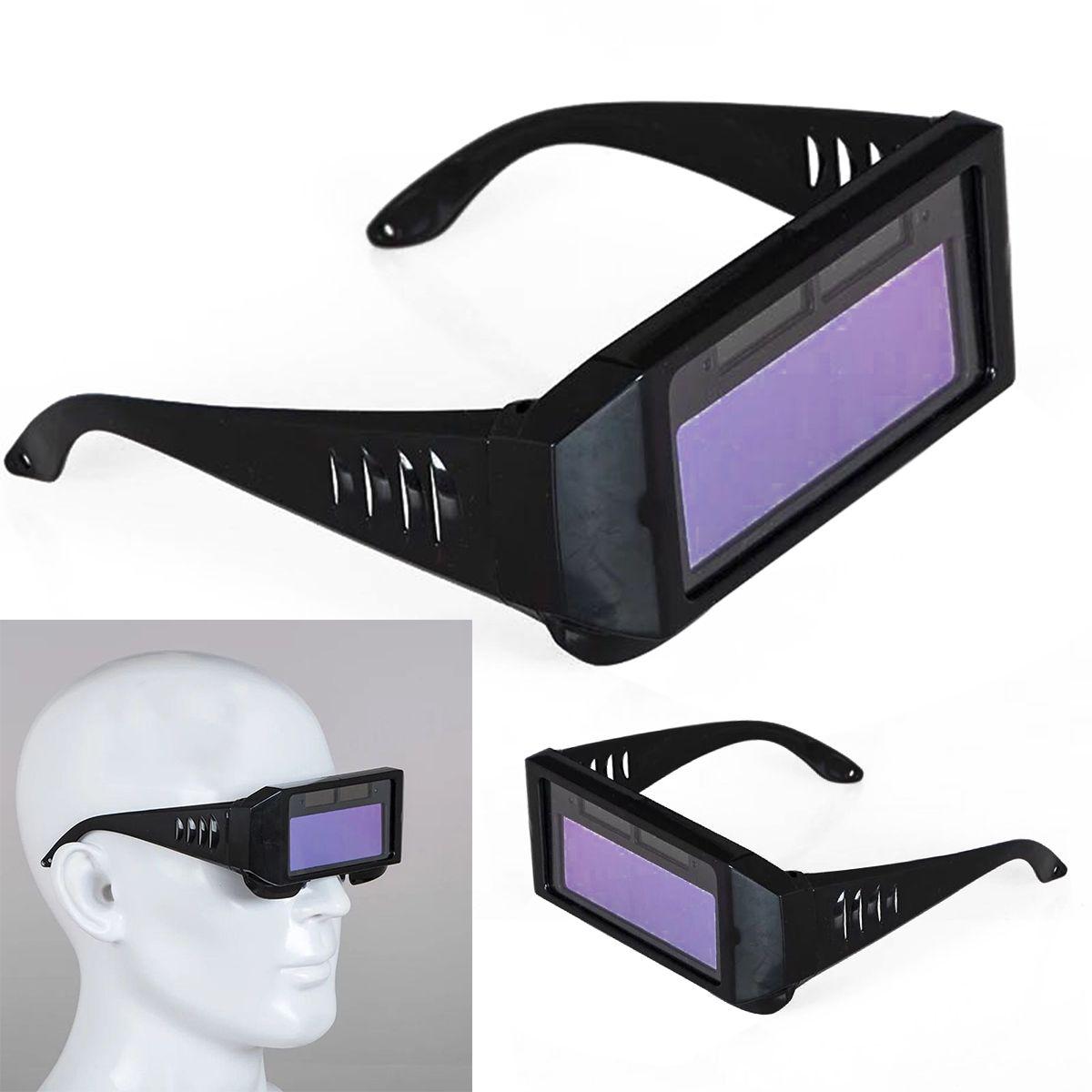 1pc Mayitr Solar Auto Darkening Welding Mask Heat Resistant Welder Helmet Eyes Goggle Glasses Arc Welding Accessories