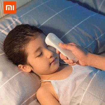 Оригинальный Xiaomi mijia IHealth термометр точный цифровой Лихорадка инфракрасный термометр Бесконтактное измерение LED Показано