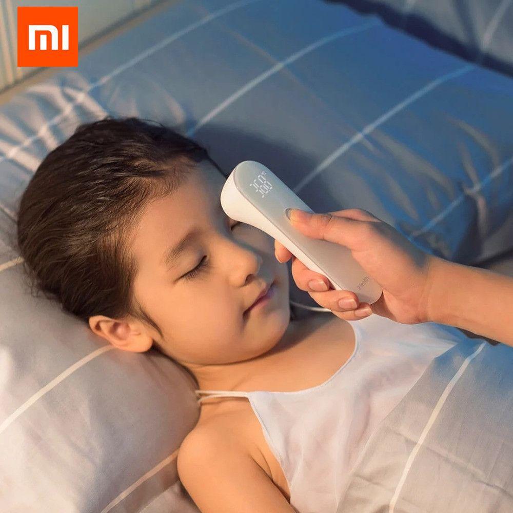 Thermomètre d'origine Xiaomi Mijia iHealth thermomètre clinique infrarouge de fièvre numérique précis mesure sans Contact LED montrée