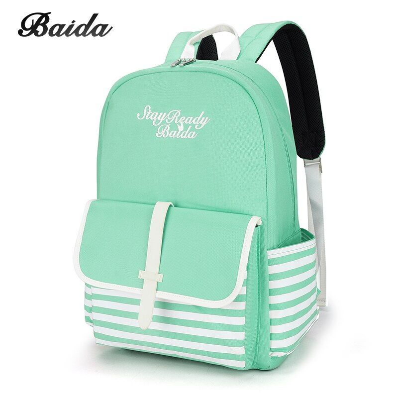 Fashion School Backpacks for Teenage Girls Canvas Women Laptop Back Pack Female Cute Japan and Korean Style Backpack Travel Bags